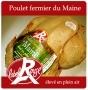 Poulet fermier Loué Label Rouge 1.4/1.7kg (Kg)